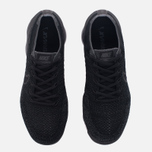 Мужские кроссовки Nike Air Vapormax Flyknit Black/Anthracite/Dark Grey фото- 4