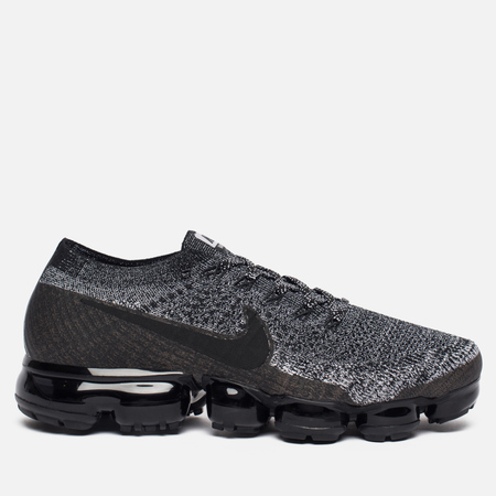 Мужские кроссовки Nike Air Vapormax Flyknit Black/Black/White/Racer Blue