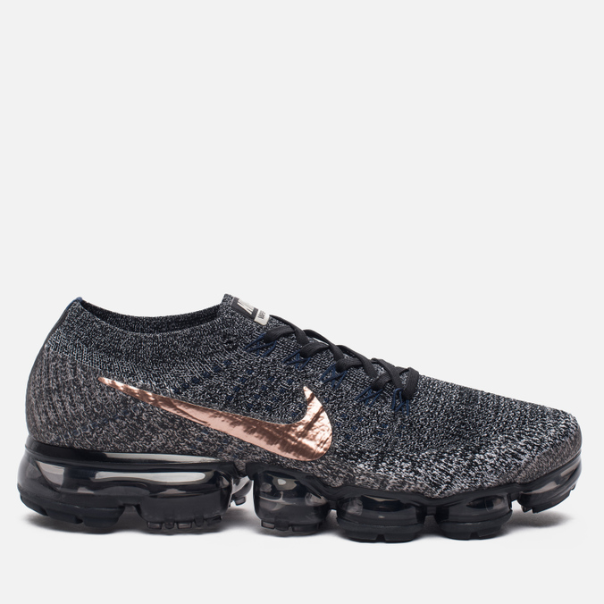 Мужские кроссовки Nike Air Vapormax Flyknit Explorer Pack Black/Black/Summit White