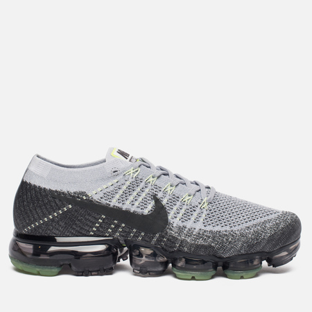 Мужские кроссовки Nike Air Vapormax Flyknit Heritage Pack Pure Platinum/Anthracite/White/Dark Grey