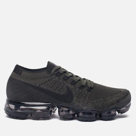 Мужские кроссовки Nike Air Vapormax Flyknit Midnight Fog/Cargo Khaki/Desert Moss