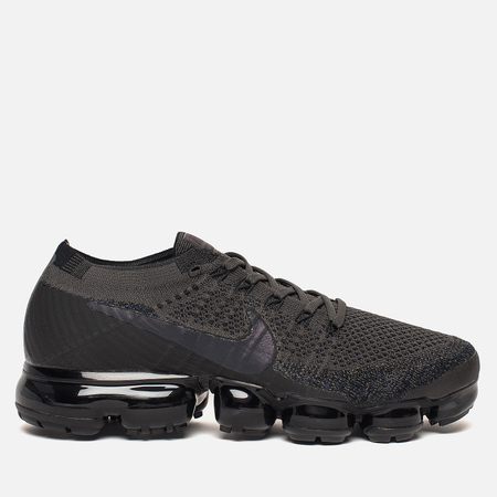 Мужские кроссовки Nike Air Vapormax Flyknit Midnight Fog/Multi Color/Black