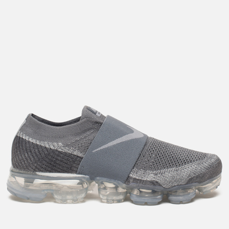 Мужские кроссовки Nike Air Vapormax Flyknit Moc Cool Grey/Hot Punch/White/Wolf Grey