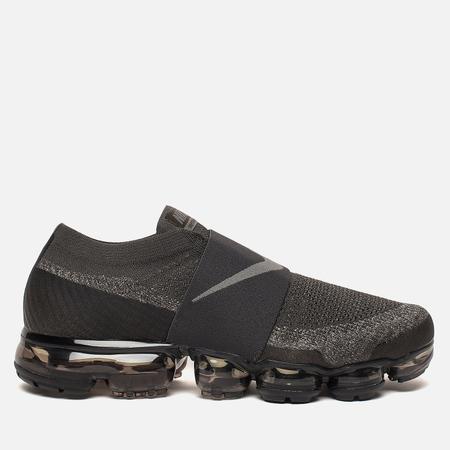 Мужские кроссовки Nike Air Vapormax Flyknit Moc Midnight Fog/Legion Green/Black/Dark Stucco