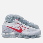 Мужские кроссовки Nike Air Vapormax Flyknit Pure Platinum/University Red фото- 1
