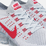 Мужские кроссовки Nike Air Vapormax Flyknit Pure Platinum/University Red фото- 3