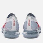 Мужские кроссовки Nike Air Vapormax Flyknit Pure Platinum/University Red фото- 5