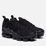 Мужские кроссовки Nike Air Vapormax Plus Black/Black/Dark Grey фото- 0