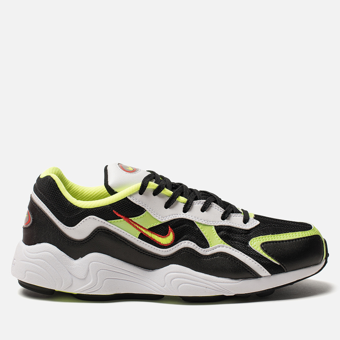 separation shoes bd2a8 51c5b Мужские кроссовки Nike Air Zoom Alpha Black Volt Habanero Red White ...