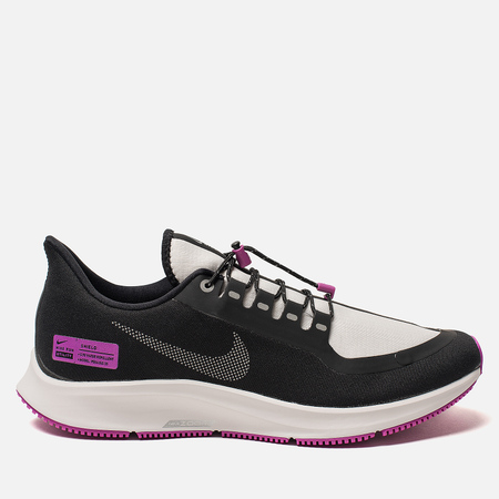 Мужские кроссовки Nike Air Zoom Pegasus 35 Shield NRG Black/Reflect Silver/Hyper Violet
