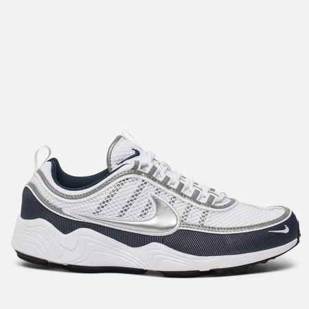 Мужские кроссовки Nike Air Zoom Spiridon '16 White/Metallic Silver/Armory Navy/Black