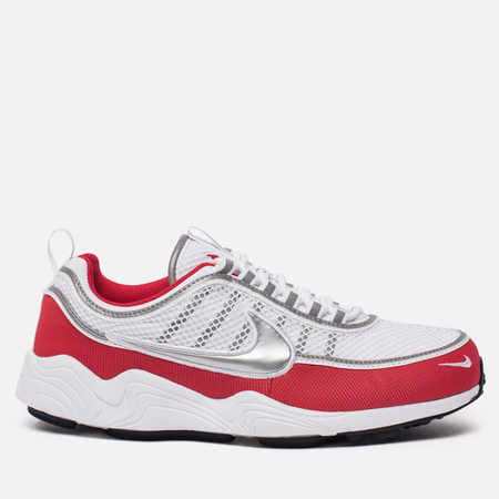 Мужские кроссовки Nike Air Zoom Spiridon '16 White/Metallic Silver/University Red