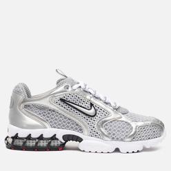 Мужские кроссовки Nike Air Zoom Spiridon Cage 2 Light Smoke Grey/Metallic Silver