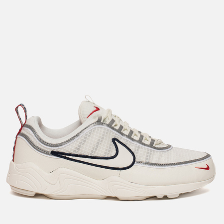 Мужские кроссовки Nike Air Zoom Spiridon SE Pull Tab Pack Sail/University Red/Obsidian