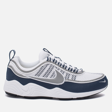 Мужские кроссовки Nike Air Zoom Spiridon White/Silver/Light Midnight