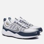 Мужские кроссовки Nike Air Zoom Spiridon White/Silver/Light Midnight фото- 1