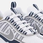 Мужские кроссовки Nike Air Zoom Spiridon White/Silver/Light Midnight фото- 5