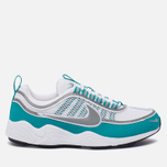 Мужские кроссовки Nike Air Zoom Spiridon White/Silver/Turbo Green/Laser Orange фото- 0