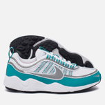 Мужские кроссовки Nike Air Zoom Spiridon White/Silver/Turbo Green/Laser Orange фото- 2