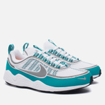 Мужские кроссовки Nike Air Zoom Spiridon White/Silver/Turbo Green/Laser Orange фото- 1