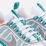 Мужские кроссовки Nike Air Zoom Spiridon White/Silver/Turbo Green/Laser Orange фото- 5