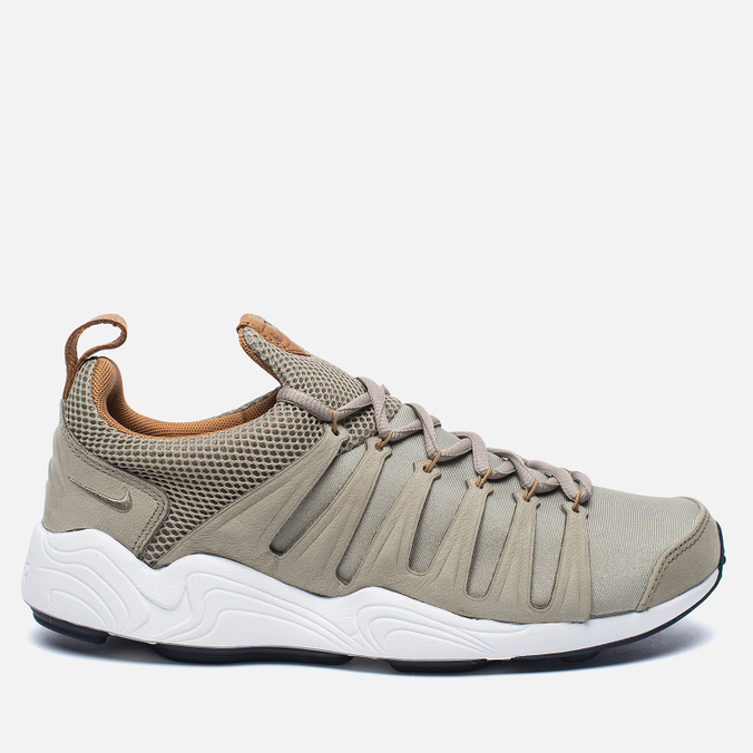Мужские кроссовки Nike NikeLab Air Zoom Spirimic Bamboo/White/Gum Light Brown