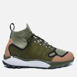 Мужские кроссовки Nike Air Zoom Talaria Mid Flyknit Premium Palm Green/Legion Green фото- 0