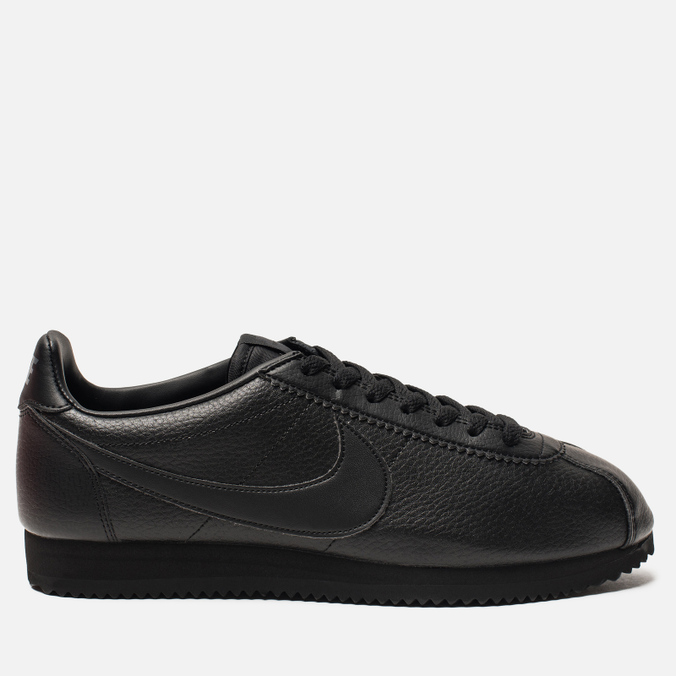 53b43b2a3e933 Мужские кроссовки Nike Classic Cortez Leather Black Black Anthracite ...
