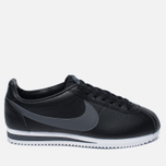 Мужские кроссовки Nike Classic Cortez Leather Black/Dark Grey/White фото- 0