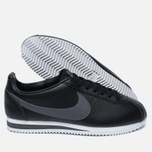 Мужские кроссовки Nike Classic Cortez Leather Black/Dark Grey/White фото- 2