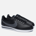 Мужские кроссовки Nike Classic Cortez Leather Black/Dark Grey/White фото- 1