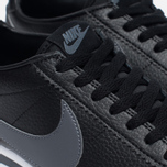 Мужские кроссовки Nike Classic Cortez Leather Black/Dark Grey/White фото- 5