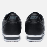 Мужские кроссовки Nike Classic Cortez Leather Black/Dark Grey/White фото- 3