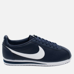 Мужские кроссовки Nike Classic Cortez Leather Midnight Navy/White фото- 0