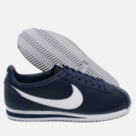 Мужские кроссовки Nike Classic Cortez Leather Midnight Navy/White фото- 2