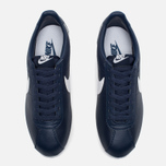 Мужские кроссовки Nike Classic Cortez Leather Midnight Navy/White фото- 4
