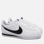 Мужские кроссовки Nike Classic Cortez Leather White/Black фото- 1