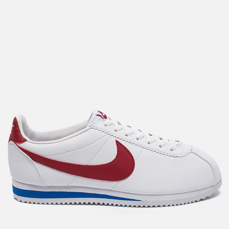 Nike Classic Cortez Leather Men's Sneakers White/Varsity Royal/Varsity Red
