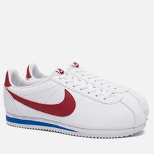 Мужские кроссовки Nike Classic Cortez Leather White/Varsity Royal/Varsity Red фото- 1