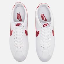 Мужские кроссовки Nike Classic Cortez Leather White/Varsity Royal/Varsity Red фото- 4