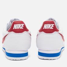 Мужские кроссовки Nike Classic Cortez Leather White/Varsity Royal/Varsity Red фото- 5