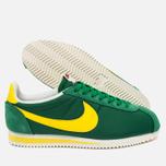 Мужские кроссовки Nike Classic Cortez Nylon AW Pine Green/Opti Yellow/Sail фото- 2