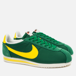 Мужские кроссовки Nike Classic Cortez Nylon AW Pine Green/Opti Yellow/Sail фото- 1