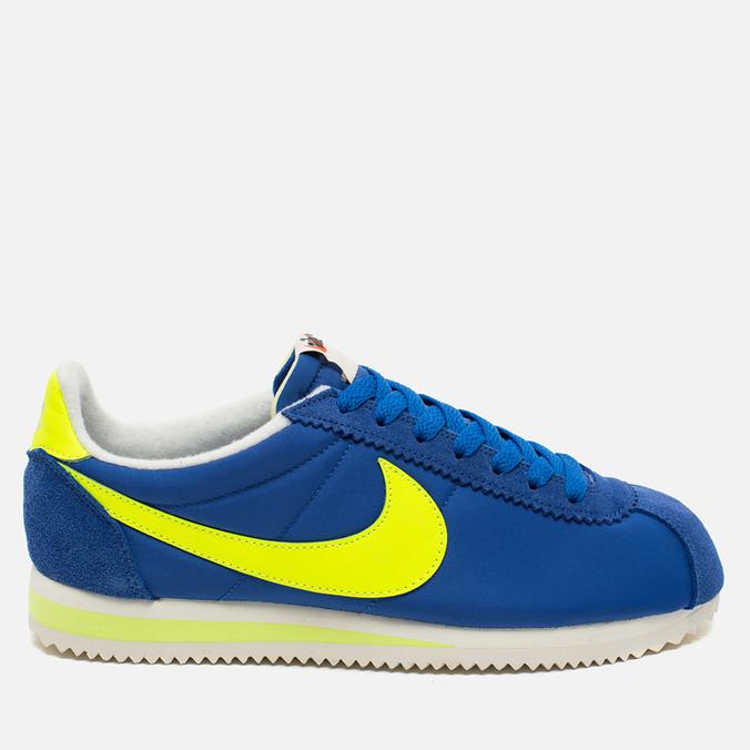 Мужские кроссовки Nike Classic Cortez Nylon AW Varsity Royal/Volt/Sail