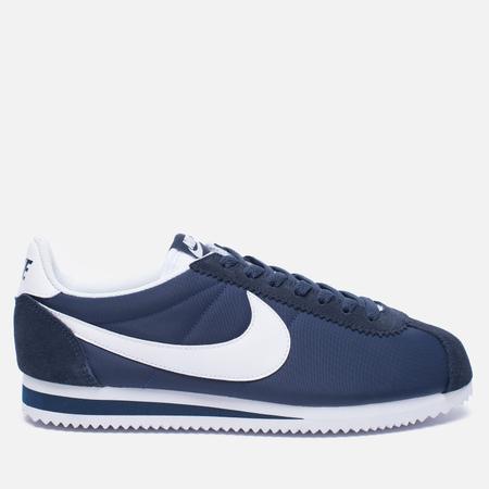 Мужские кроссовки Nike Classic Cortez Nylon Obsidian/White