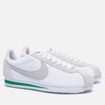 Мужские кроссовки Nike Classic Cortez Nylon Premium Ivory/Pale Grey/Pine Green фото- 1