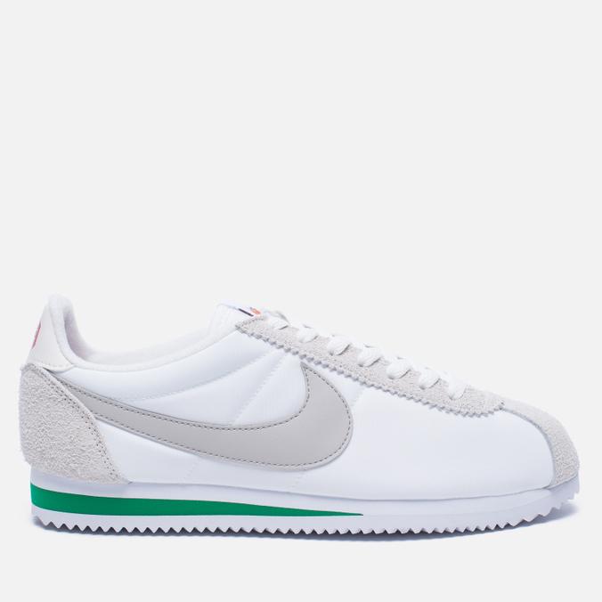 Мужские кроссовки Nike Classic Cortez Nylon Premium Ivory/Pale Grey/Pine Green