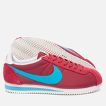 Мужские кроссовки Nike Classic Cortez Nylon Premium Stop Sign Varsity Red/Chlorine Blue фото- 1