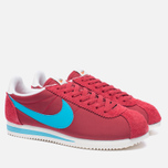 Мужские кроссовки Nike Classic Cortez Nylon Premium Stop Sign Varsity Red/Chlorine Blue фото- 2