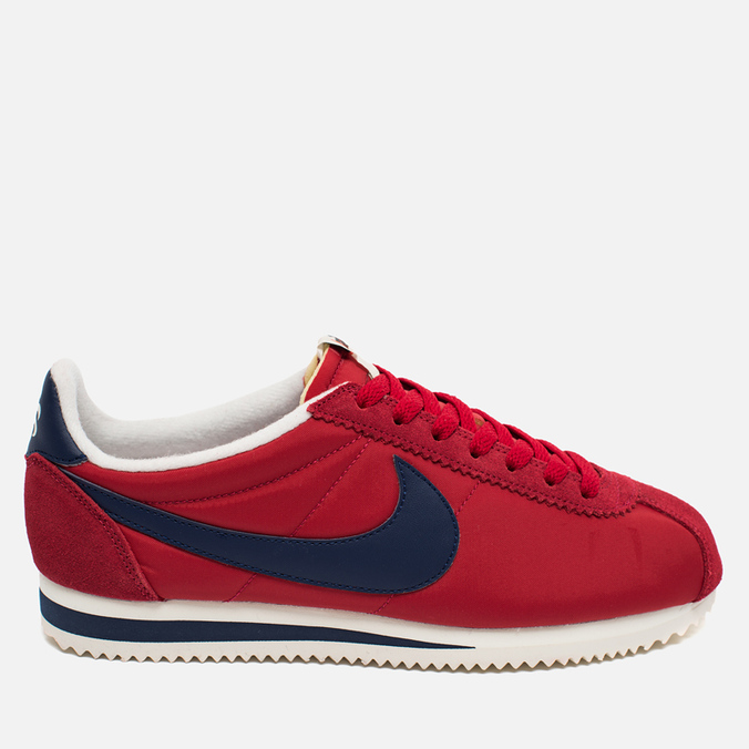 Мужские кроссовки Nike Classic Cortez Nylon Varsity Red/Midnight Navy